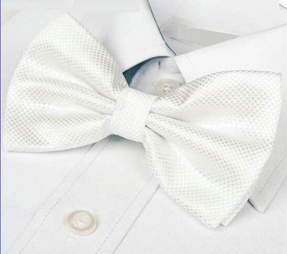 fashion bow tie dress shirt brand new adult bow tie 20 colors wedding party accessory 2pcs/lot