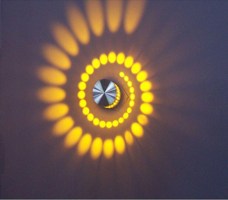 شحن مجاني 3 واط ac 85-265 فولت الجدار مصباح الجدار ضوء مصباح السرير ktv led بار ممر ضوء الليل backgroud المدخل الإضاءة