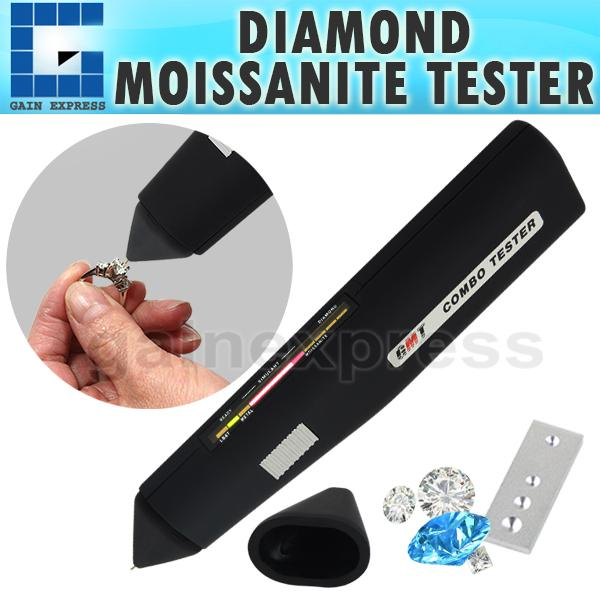 DMT-3 Jewelry Test Diamond Moissanite Tester Gemstone 2pt Jewel Stone Combo Gem