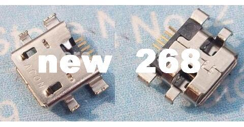 free shipping 100pcs/lot Original New Charging Connector Dock Port for google Nexus 7 Charger Port USB Charger