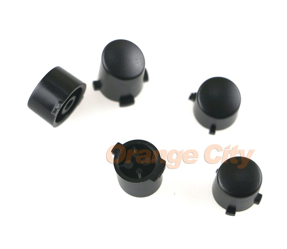 Zwart Plastic Abxy + Guide-knoppen Vervangen Sleutel Draadloze Controller Shell voor Xbox One Xboxone Controller