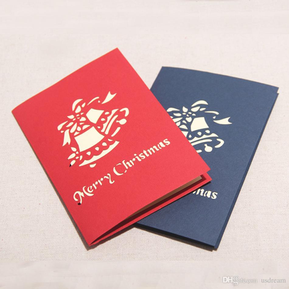 Homemade Christmas Greeting Cards Cm Folded Unique Design Handmade