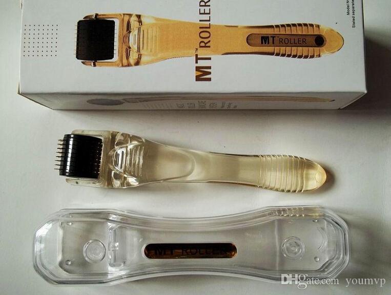 Ny MT DerMaroller Micro Needle Roller 192 Nålar Mikronedelrulle för hudvård 0,2-3,0mm