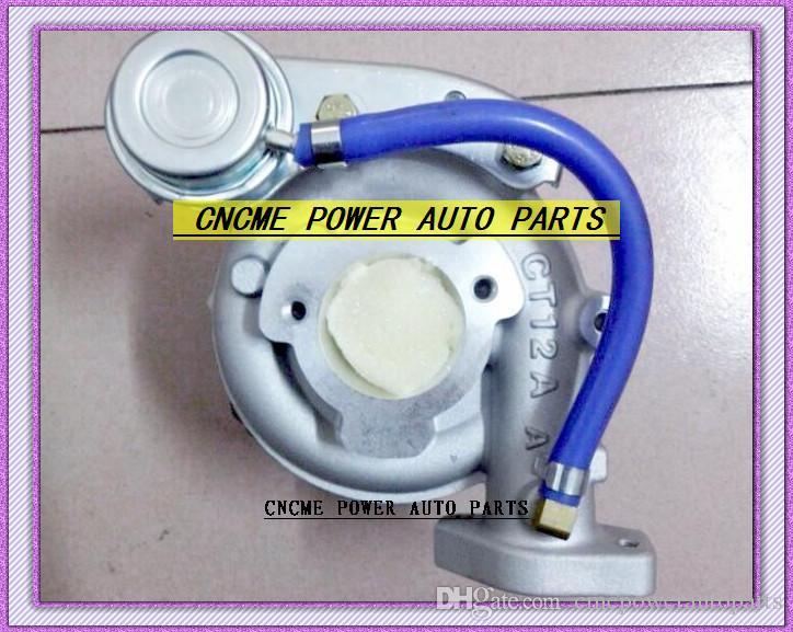 1 pc CT12A 17201-46010 17208-46010 Turbocompressor Para TOYOTA Lexus Soara Soarer Supra um Supr-a 1990-Twin Turbo Motor 1JZ-GTE 1JZGTE 2.5L