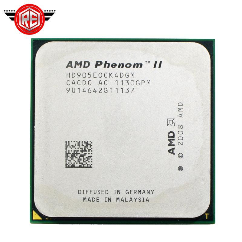 Processeur AMD Phenom II X4 905E Quad-CORE 2.5Ghz 6M Socket am3 am2 +