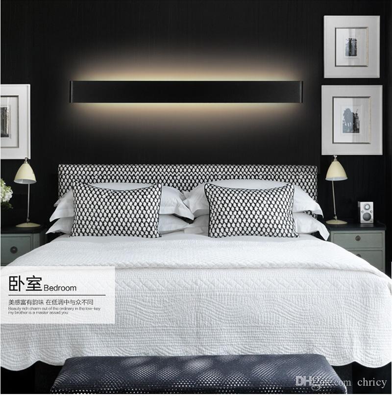 2016 new design Modern 41cm Long 14W Aluminum LED Wall Lamps for livingroom bathroom as Decoration Sconce Light 90-260V lamparas de pared