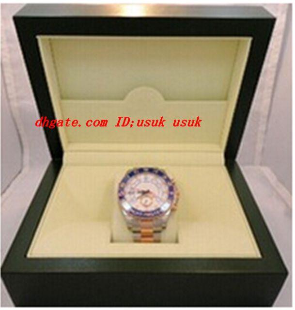 Luxury Wristwatch II 18K ROSE GOLD STEEL 44MM MENS AUTOMATIC WATCH 116681 MEN'S SPORTS WRIST WATCHES ORIGINAL BOX & PAPERS