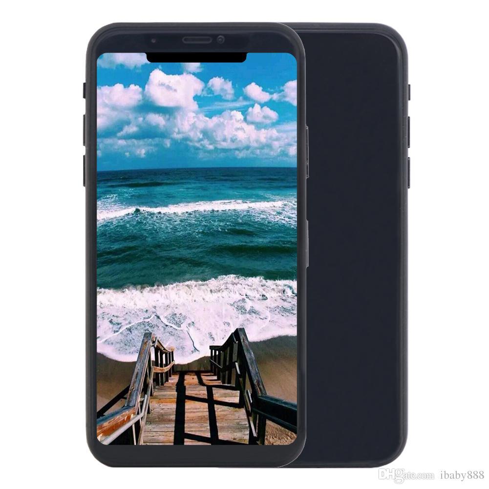 Cara ID Goophone 11 Pro Max V3 de carregamento sem fio 3 Câmeras de 6,5 polegadas Todos Tela Mostrar Octa Núcleo 4G LTE 256GB 512GB Smartphone da meia-noite verde