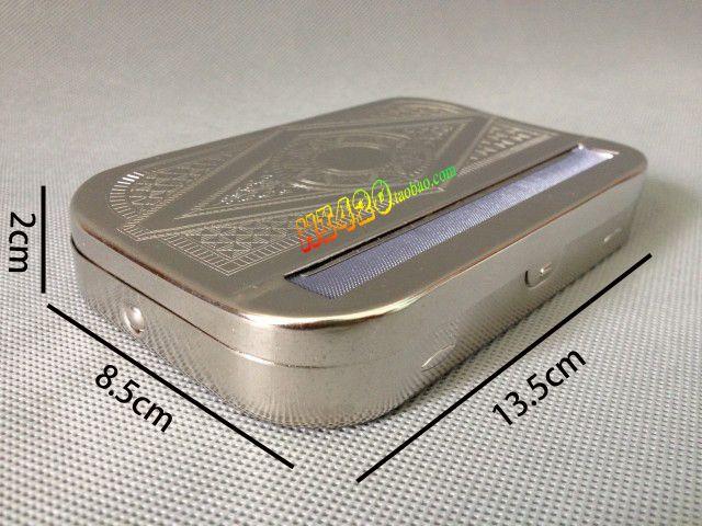 Pozostałe akcesoria do palenia Niezawodna jakość Prostokątne tytoń Rolki Matel Roll Rolling Papers Papieros