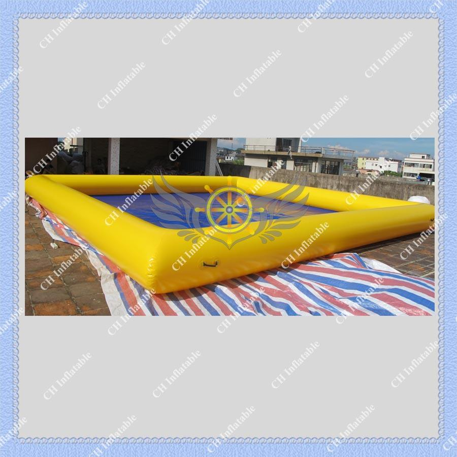 High Quality Inflatable Water Swimming Pool Safe and Strong Pool for Kids and Water Game,Air Pump Included