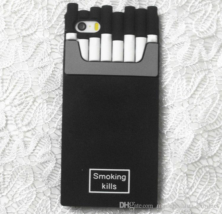Luxury Smoking Kills Brand Cigaret Case For IPhone 7 6 4 4S 5S ...
