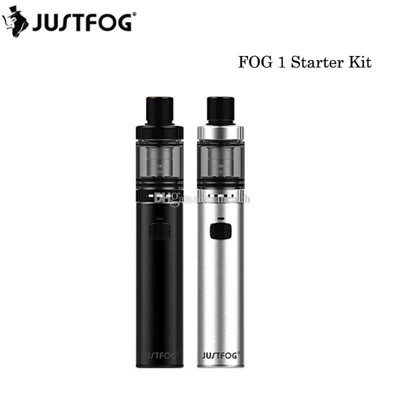 100% Origianl Justfog FOG1 Başlangıç Kiti 1500 mAh Pil Vape Kalem 2 ml Üst Dolum Atomizer Tankı VS Vape Kalem 22 Kiti