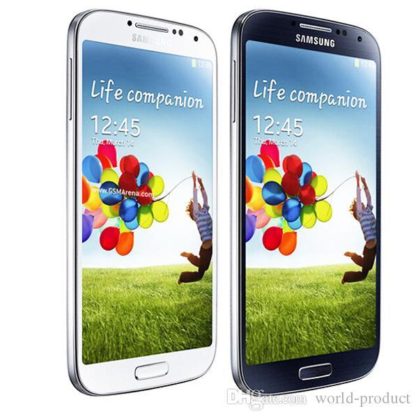 الأصلي سامسونج غالاكسي S4 I9500 مفتوح 13MP كاميرا 5.0 بوصة 2GB + 16GB الروبوت 4.2 رباعية النواة الهاتف الذكي الجيل الثالث 3G WCDMA الهواتف مجدد