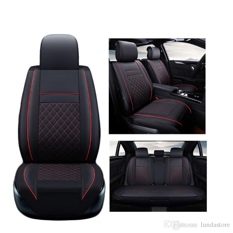 Luxury Leather Car Seat Covers For Toyota Corolla Camry Rav4 Auris
