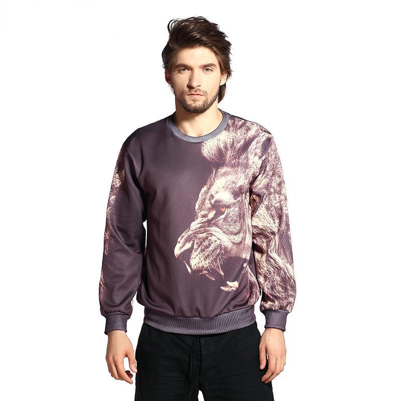 FG 1509 Raisevern nueva harajuku impresión animal tigre jersey sudaderas con capucha 3d sudaderas tops ropa para hombre casual otoño streetwear