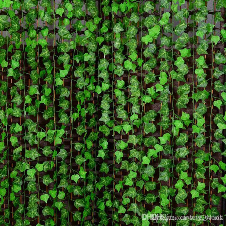 2020 250cm Artificial Silk Simulation Creeper Climbing Vines Green