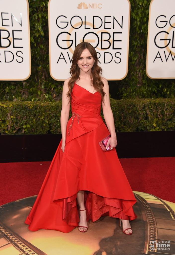 Elie Saab Esinlenerek Altın Küre Ödülü Kırmızı Halı Ünlü Elbiseleri 2016 Tara Lynne Barr Seksi Dantel Abiye giyim Balo Parti Kraliçe Elbise
