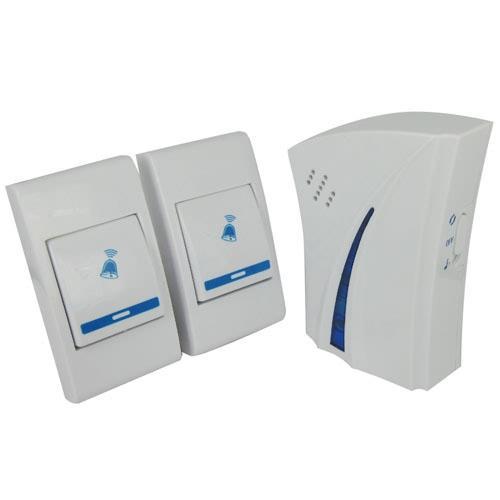 9510FD2 Wireless Remote Control Digital Doorbell 150 meter 32 music Doorbell Door Bell Chime 1 receivers 2 emitter