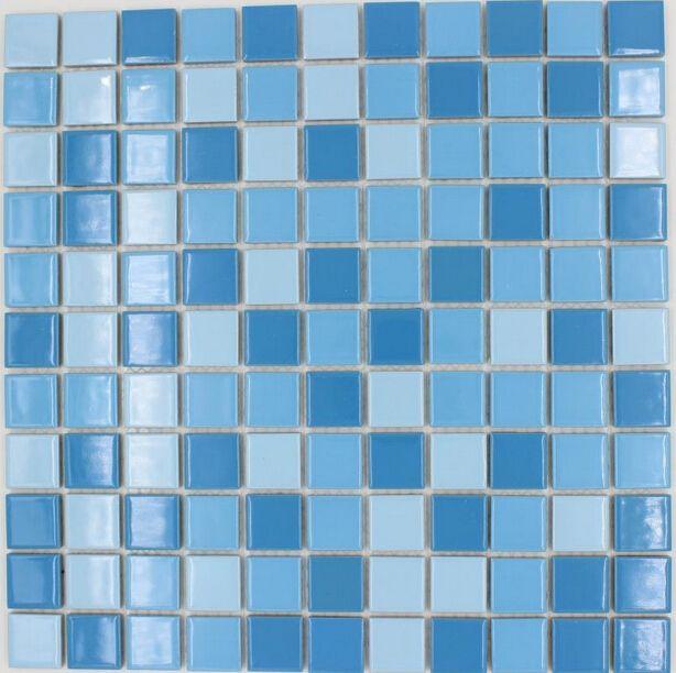 Acheter Carrelage Carré Bleu Ciel Mélangé Bleu Couleur Céramique Mosaïque  Carrelage Piscine Salle De Bain Cuisine Salle De Cuisine Carreau Dosseret  De ...