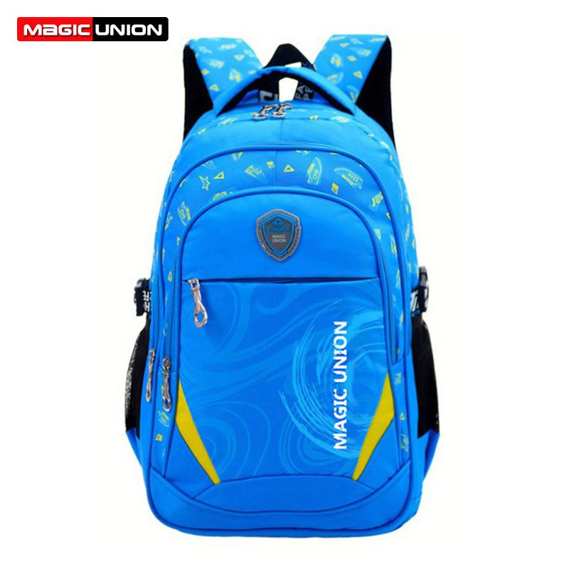 blue Baijiali Children School Bag