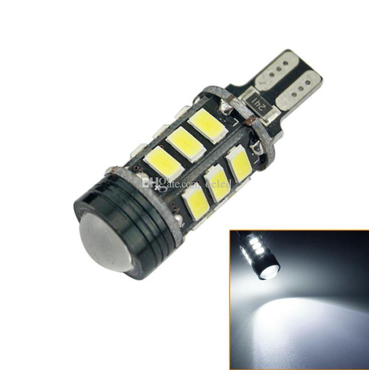 2x T15 15+1cob LED Auto Lamp Super Bright T15 5630SMD LED Light Stop Light Reversing Lamp 12V