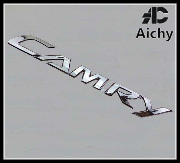автомобиль наклейки загрузки алфавитные этикетки наклейки для Toyota Camry качество гальванических