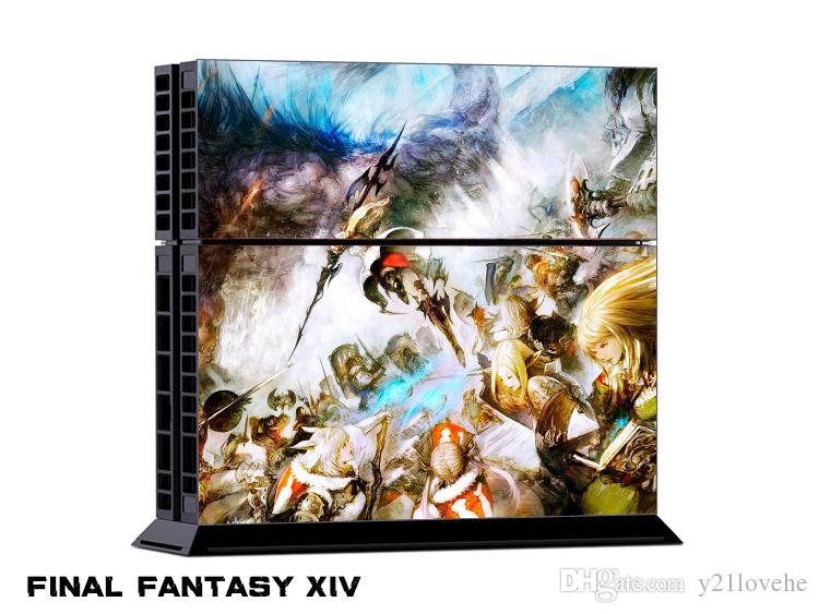 Final Fantasy XIV 0176 DECAL SKIN PROTECTIVE STICKER For SONY PS4 CONSOLE  CONTROLL UK 2019 From Y21lovehe, UK $&Price