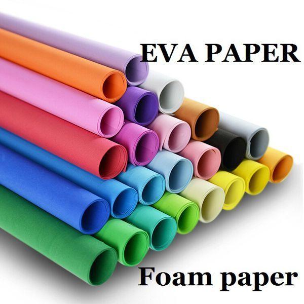 EVA Foam Paper 50*50 Handmade Foam Sheets Sponge Paper DIY Handcraft Materials Multicolour Sponge Paper Sheet Punch Foam Crafts