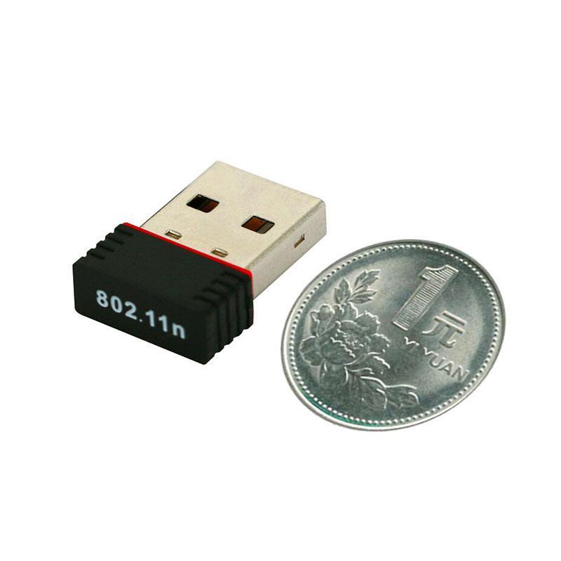 Haute qualité Ralink RT5370 150Mbps 150M USB 2.0 WiFi réseau sans fil réseau carte 802.11 b / g / n 2.4GHz LAN adaptateur