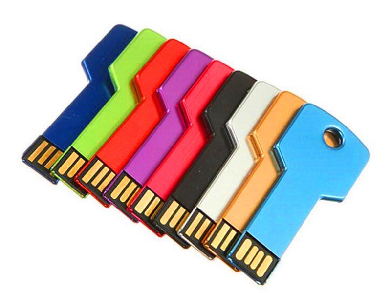 2020 Key Estilo reais 2GB 4GB 8GB 16GB 32GB 64GB 128GB 256GB Sticks USB 2.0 flash drives de memória keystyle Pen Drives