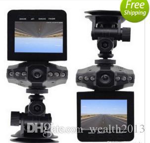 """voiture dvr avec 2.5 """"TFT voiture noire boîte LCD 6 IR LED HD caméra enregistreur Chine Night Vision h198 HOT"""
