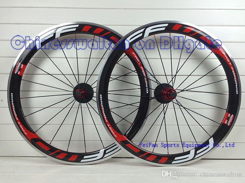 FFWD fast forward durable alloy brake surface F5R 50 full carbon road bike wheels wheelset bicycle wheel front rear wheels lightest R13 hubs