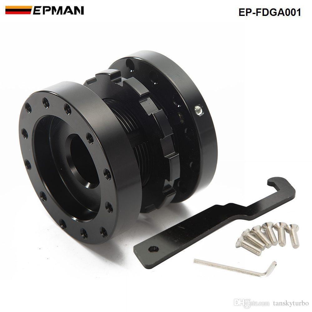 Tansky - Prolunga distanziale / mozzo regolabile in lega da volante da 40 mm a 70 mm a 6 bulloni per Honda BMW JEEP EP-FDGA001