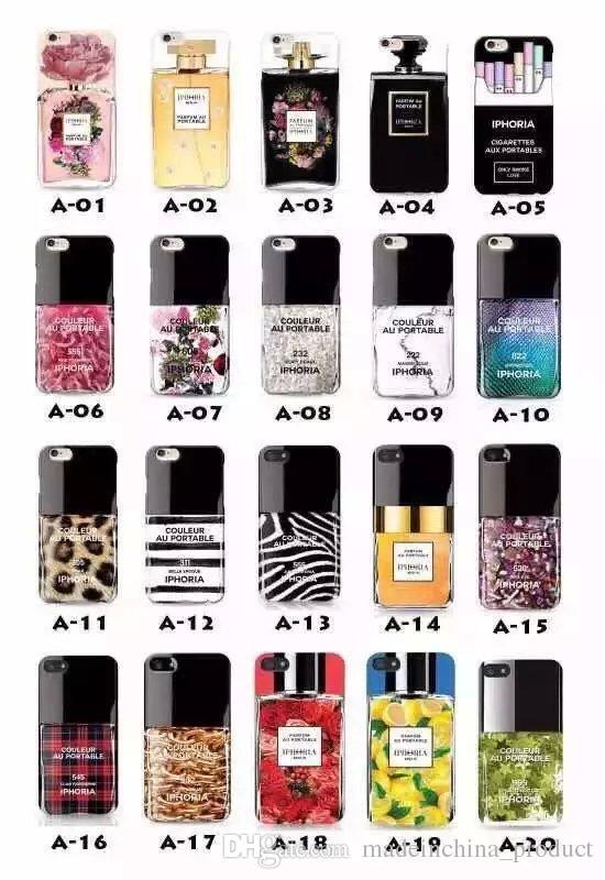 Iphoria Nail Polish Perfume Bottle Silicon Cell Phone Case For Apple ...