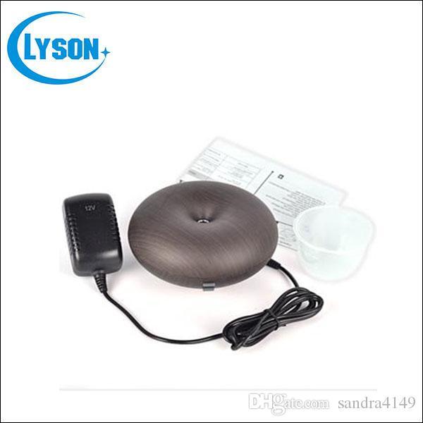 Ultrasonic Air Humidifier Aroma Oil Diffuser Ionizer Generator Aromatherapy  Office Home SPA Wood Grain Aroma Diffuser Mist Maker Usb Oil Diffuser Use