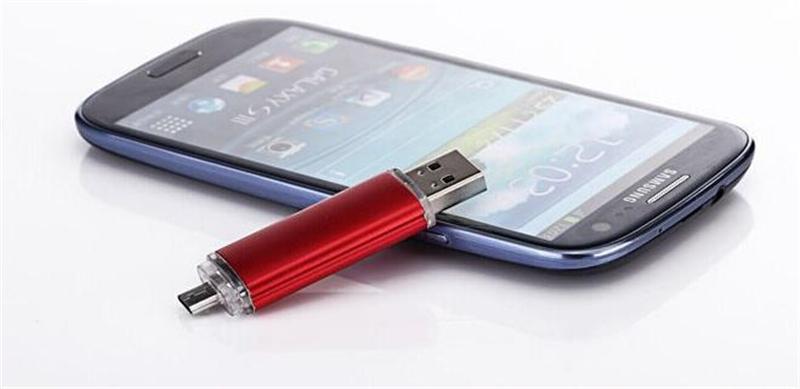 50pcs ePacket/post 100% Real Capacity 2GB 4GB 8GB 16GB 32GB 64GB 128GB 256GB OTG USB Flash Drive Memory Stick with OPP Packaging