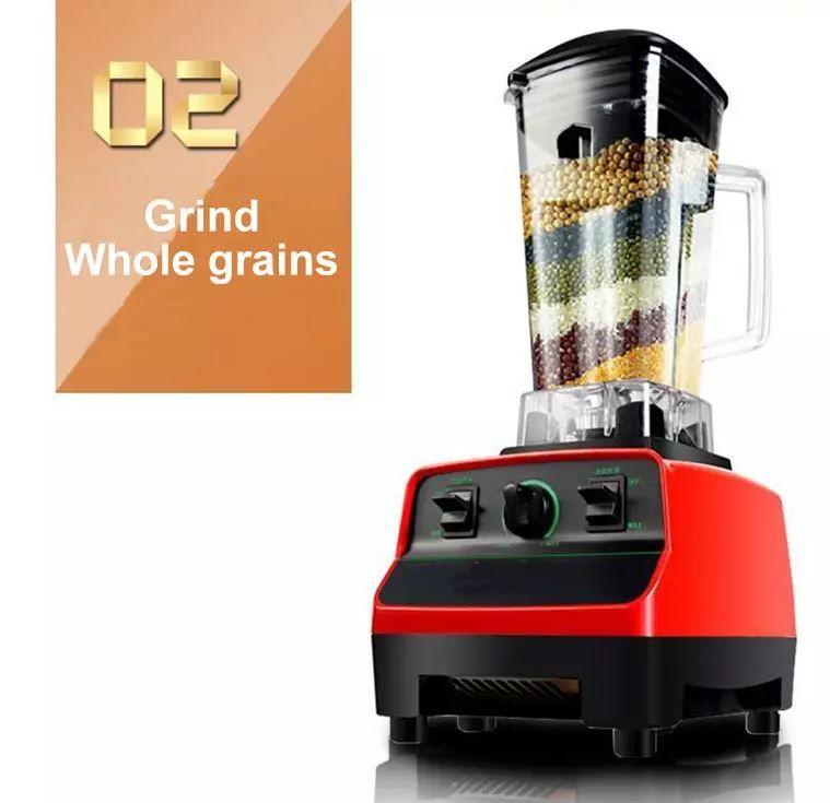 commercial 2L electric ice smoothie maker making machine juice food blender juicer ice crushing juice blending machine free shipping