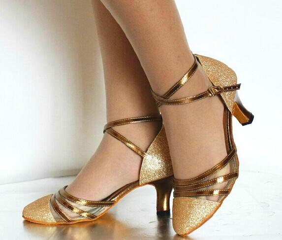 Auf Tanz Größe Glitter Sale Tango Schuhe 98 Geschlossene Zehe Alle Ballsaal Luckyface31 Von Großhandel Gold Tanzschuh Salsa w0mN8nv
