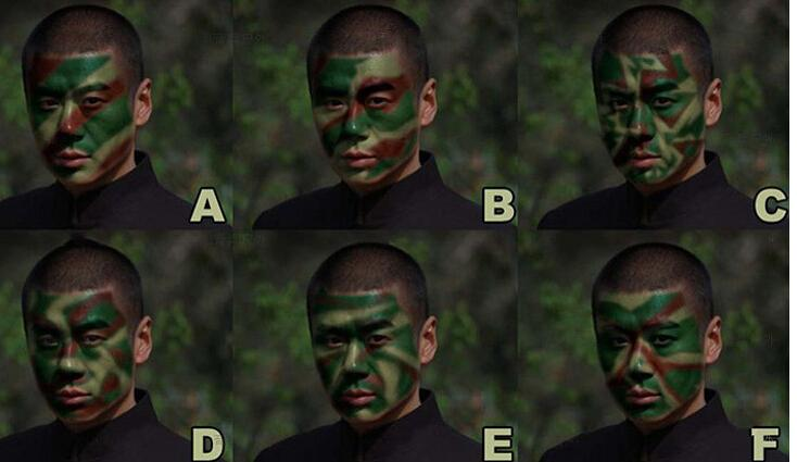 Image result for camouflage face paint