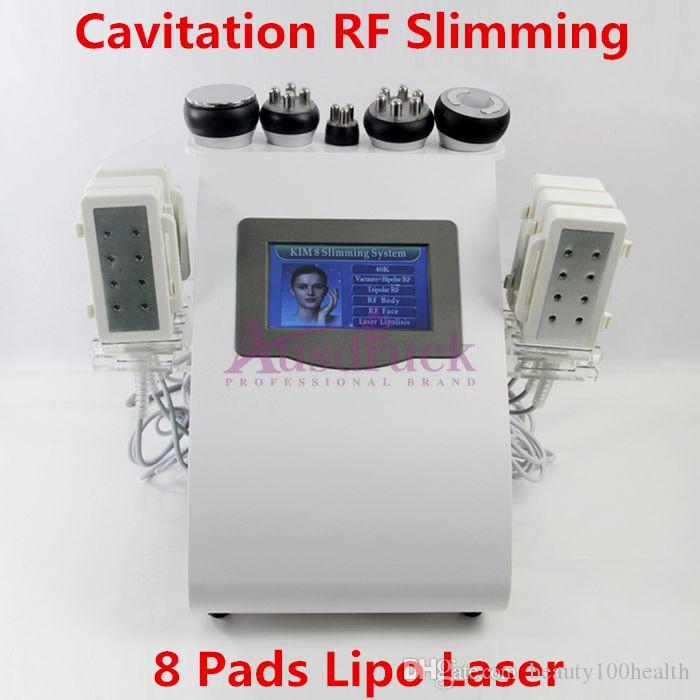 PRO Lipo Laser 40K Cavitation Ultrasonic Radio Frequency machine vacuum RF slimming anti fat cellulite removal body shaping beauty equipment