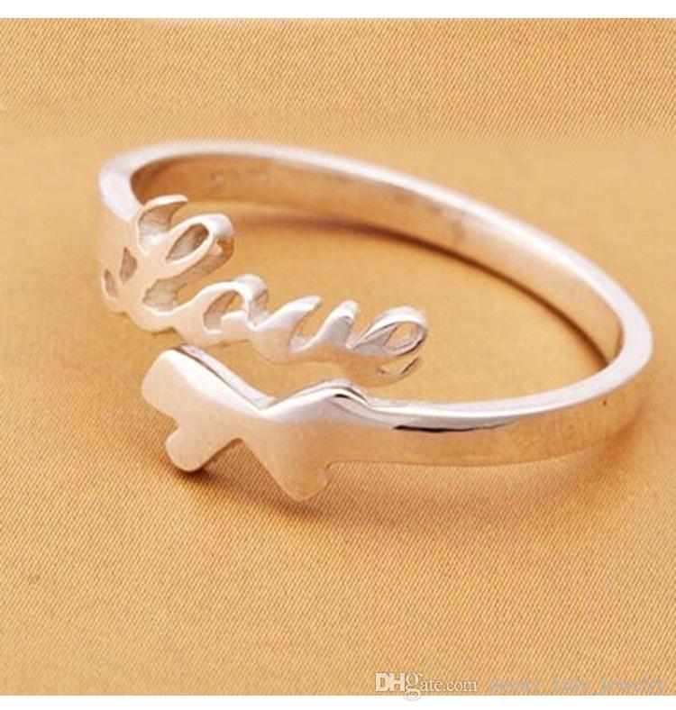 Mode ring items sieraden liefde paard pony enkele ring open ontwerp nieuwe vrouw gratis verzending