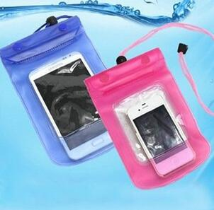 Promotion Clear Waterproof Pouch Bag Dry Case Cover For Cell Phone iphone5 Samsung s3
