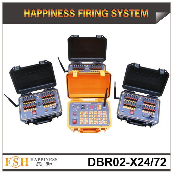 FedEx / DHL Gratis verzending, 72 cues afstandsbediening Fireworks Firing System, Sequentieel vuursysteem, 500m draadloos besturingssysteem, snelle levering