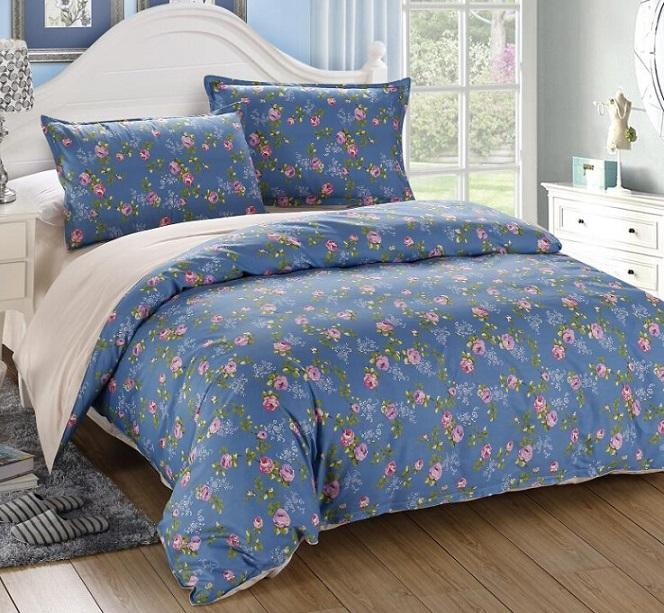 2016 new hot 100% cotton Printing 4 pcs bedding set Bed bed Sheet Quilt/Duvet Covers PillowCase Bedclothes Bed Linen Queen size