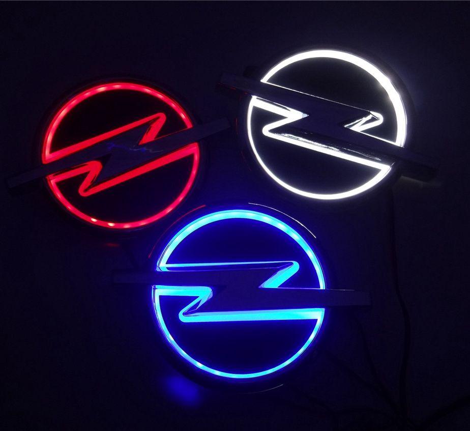 جديد 5D السيارات قياسي سيارة شارة مصباح خاص تعديل شعار سيارة أدى ضوء شعار السيارات بقيادة مصباح لأوبل