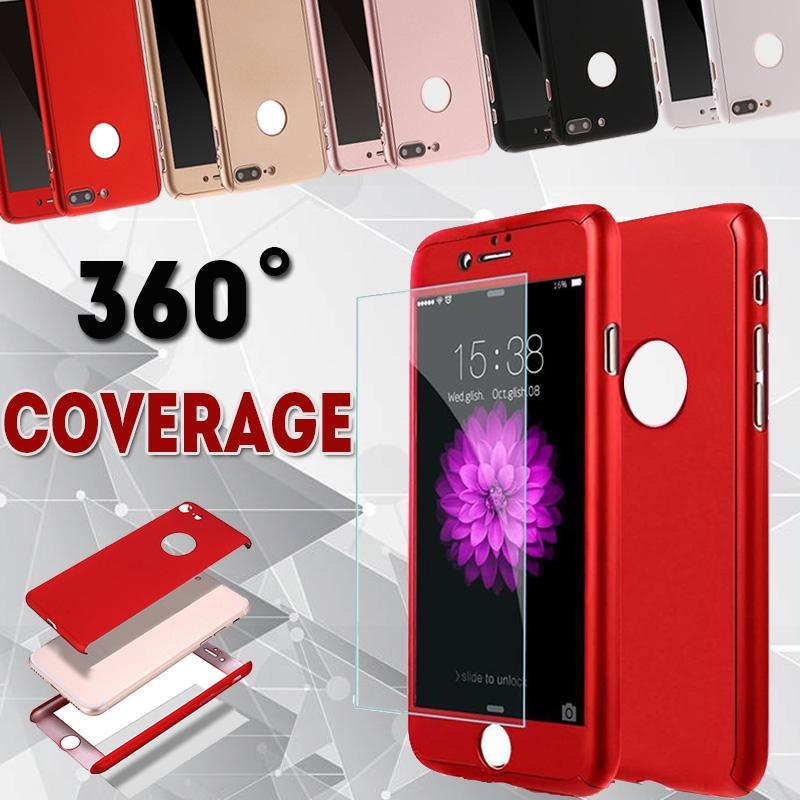 Custodia protettiva antiurto per PC a prova di urto copertura completa a 360 gradi Custodia protettiva antiurto per PC a prova di urto per iPhone XS Max XR X 8 7 6 6S Plus 5 5S