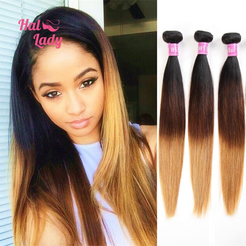 Top 6a ombre hair extension brazilian human hair straight 3 tone top 6a ombre hair extension brazilian human hair straight 3 tone ombre weaves queen hair products dip dye t1b427 color 2018 from charline861014 pmusecretfo Image collections