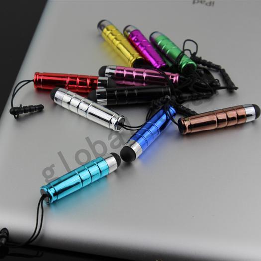 CN بوست 200pcs ميني ستايلس تاتش القلم مع المواد البلاستيكية السعة اللمس القلم ل الهاتف الكمبيوتر اللوحي