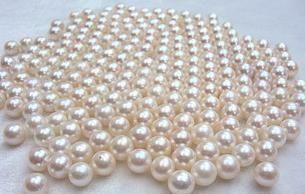 Бесплатная доставка Оптовая красивые жемчужные кольца Hong Fu Yuan 8-9 мм круглый натуральный жемчуг свободные бусины HFY1434
