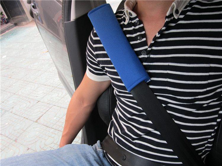 Confortável ombro almofada de carro de veículos cinto cinto cinto cinta tampa de cobertura atacado frete grátis
